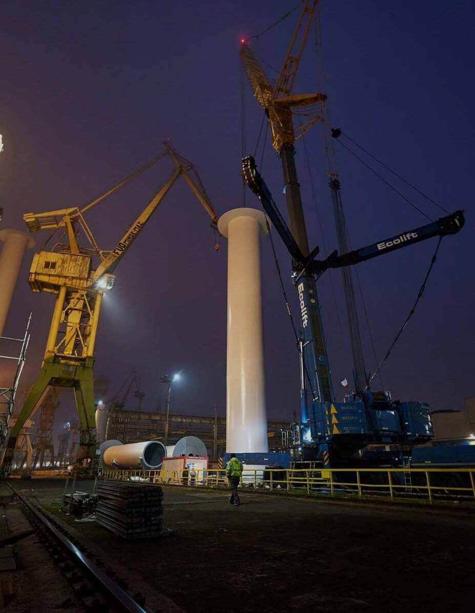 Usługi dźwigowe Gdańsk